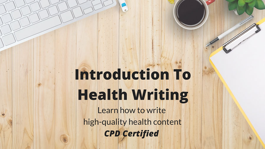 online health writing course