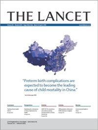 The Lancet world's top medical journal