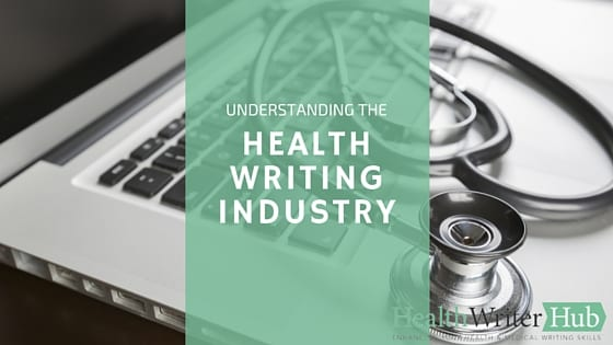health writing industry