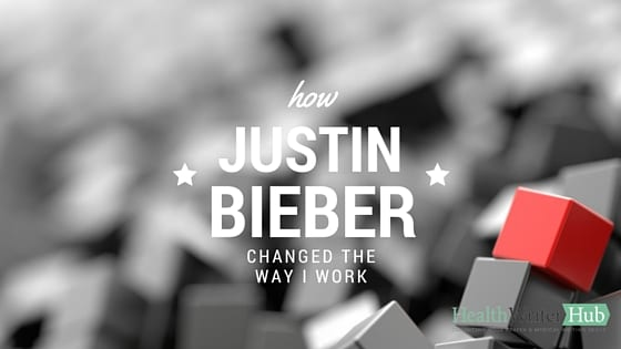 how justin bieber changed the way I work