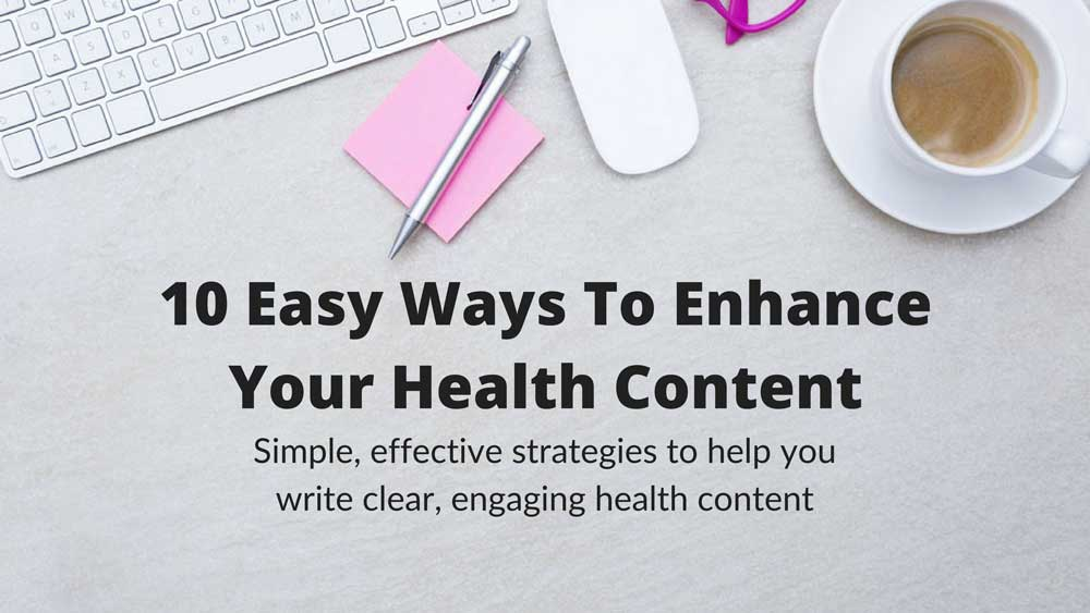Free 3-Day Health Writing Course
