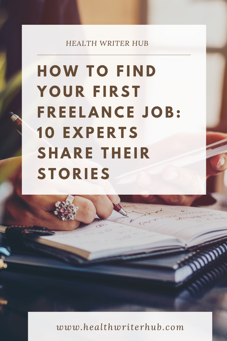 how to find your first freelance job