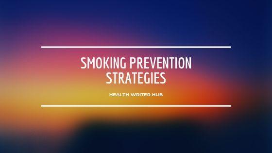 smoking prevention strategies
