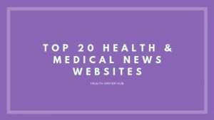 medical news websites