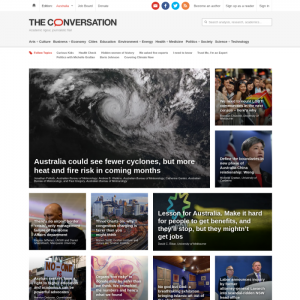 the conversation medical news websites