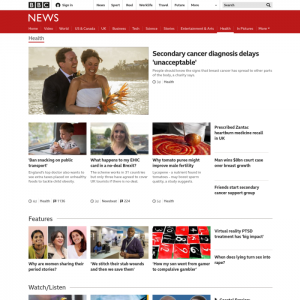 bbc medical news websites