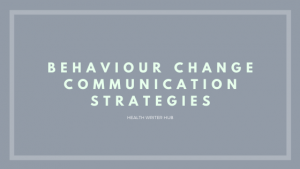 behaviour change communication strategies