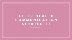 child health communication strategies