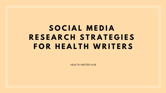 social media research strategies