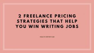 freelance pricing strategies