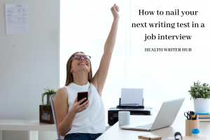 how to nail your next writing test in a job interview