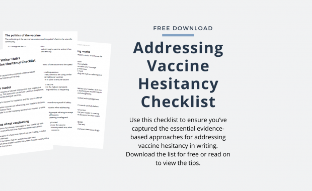 addressing vaccine hesitancy checklist