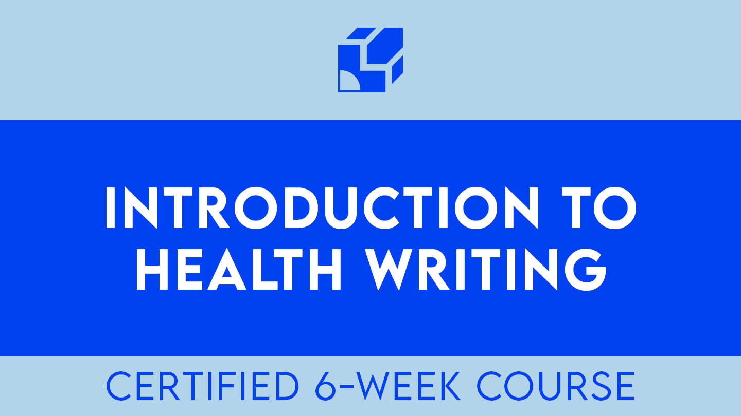 introduction to health writing course